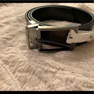 Robert Graham Brown Leather Belt